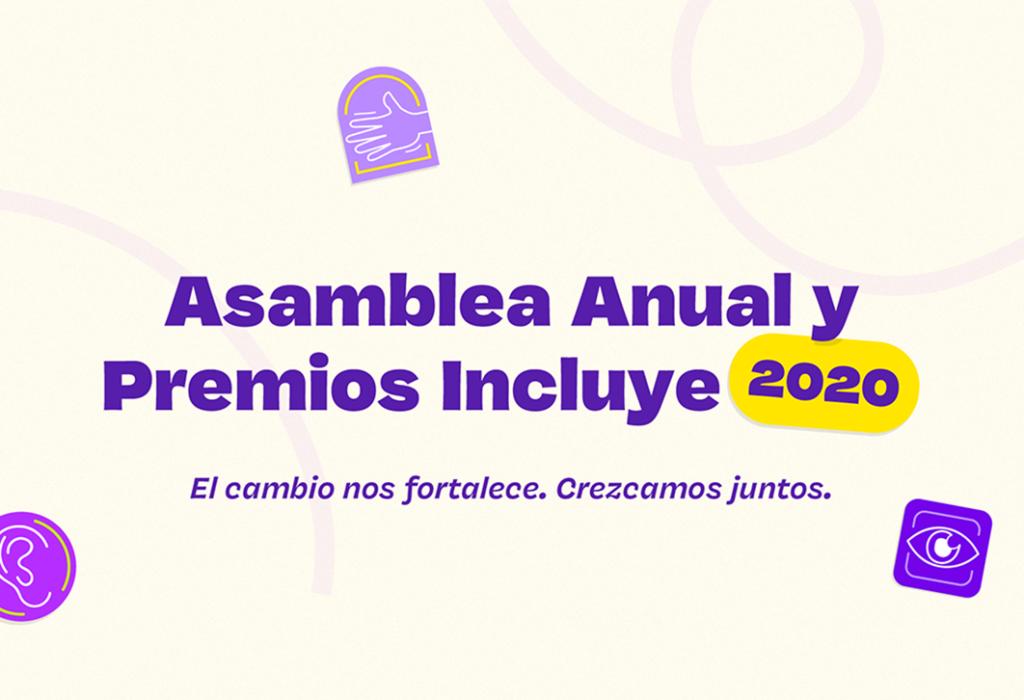 Asamblea y Premios Incluye 2020